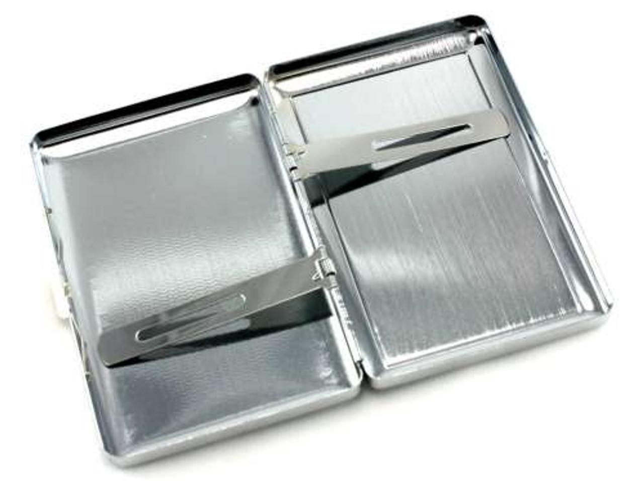 Silver Money Cigarette Case