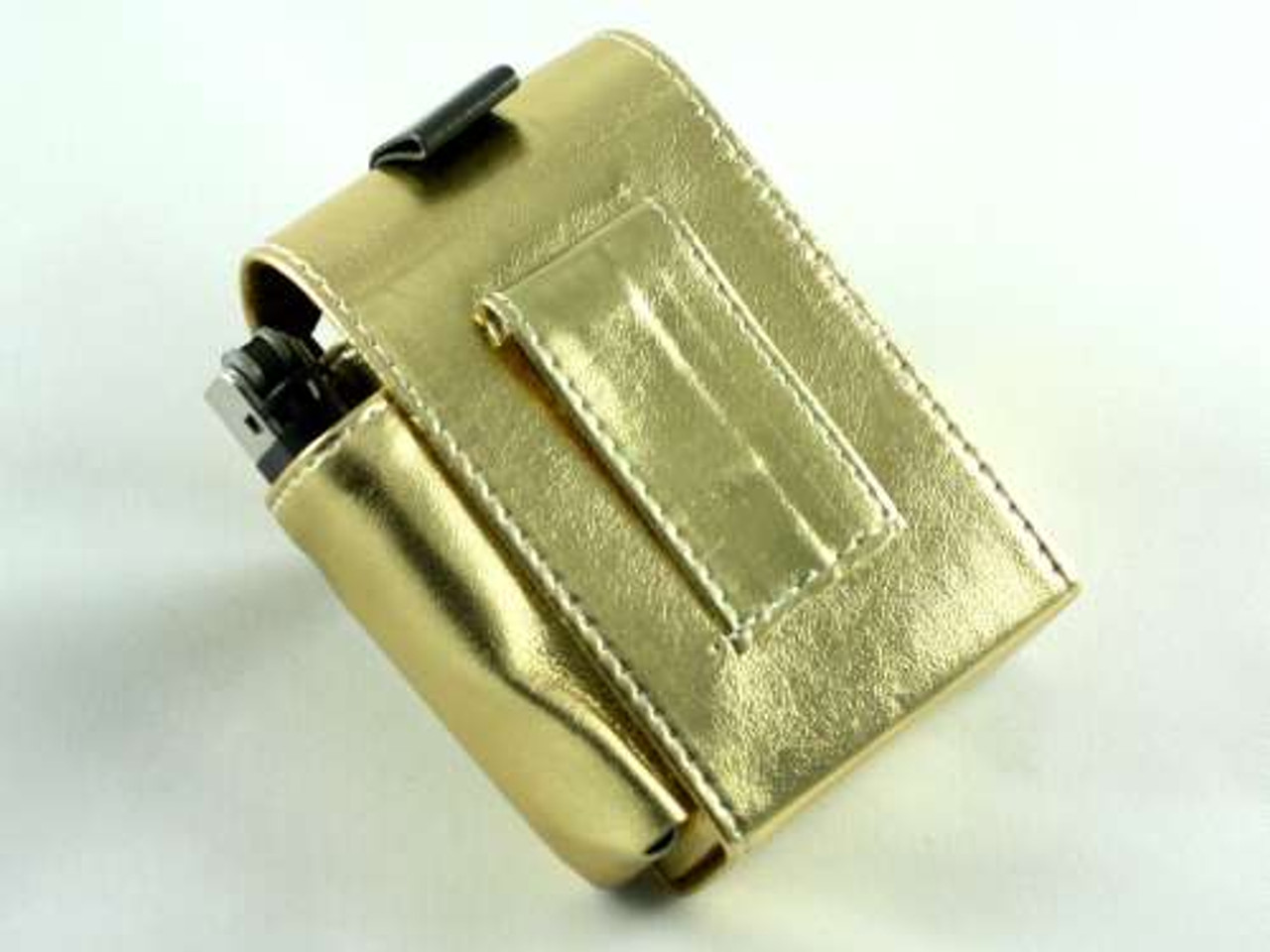 Metallic Gold Cigarette Pack Holder