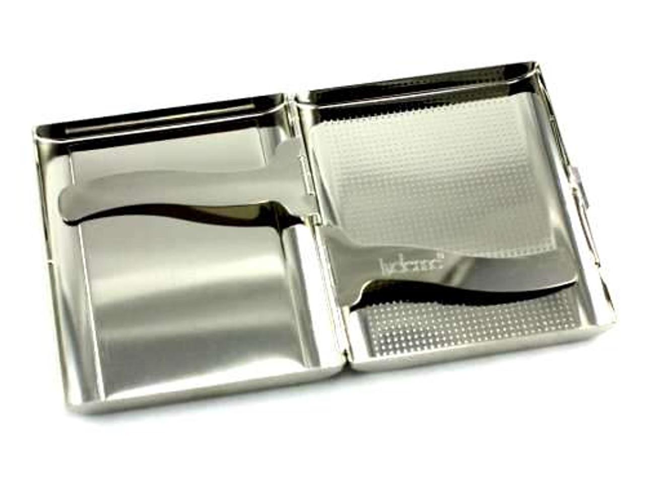 Lucienne Classic Silver Heart Cigarette Case