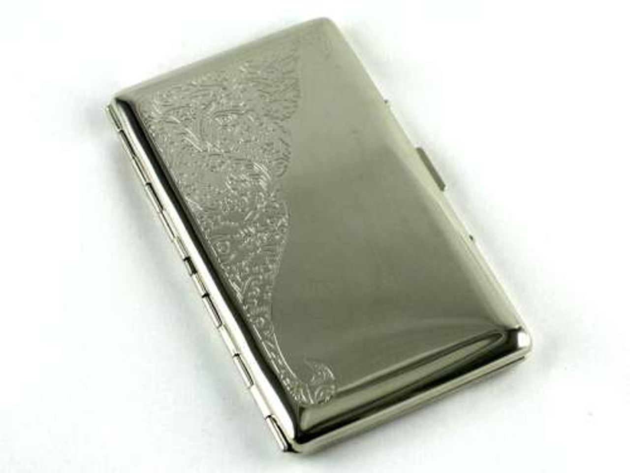 Lucienne Silver Etched Cigarette Case