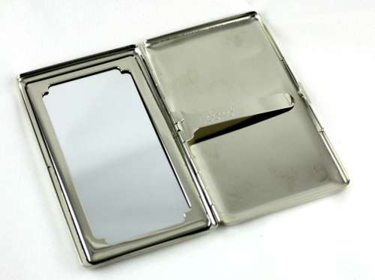 Lucienne Silver Etched Cigarette Case