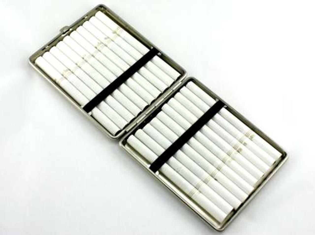 Lucienne Silver Grand Cigarette Case