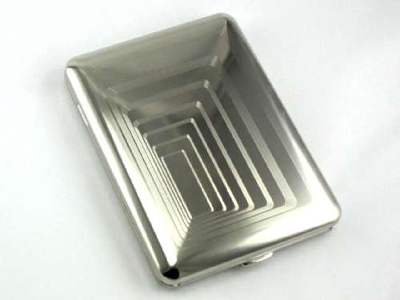 Lucienne Silver Vertigo Cigarette Case