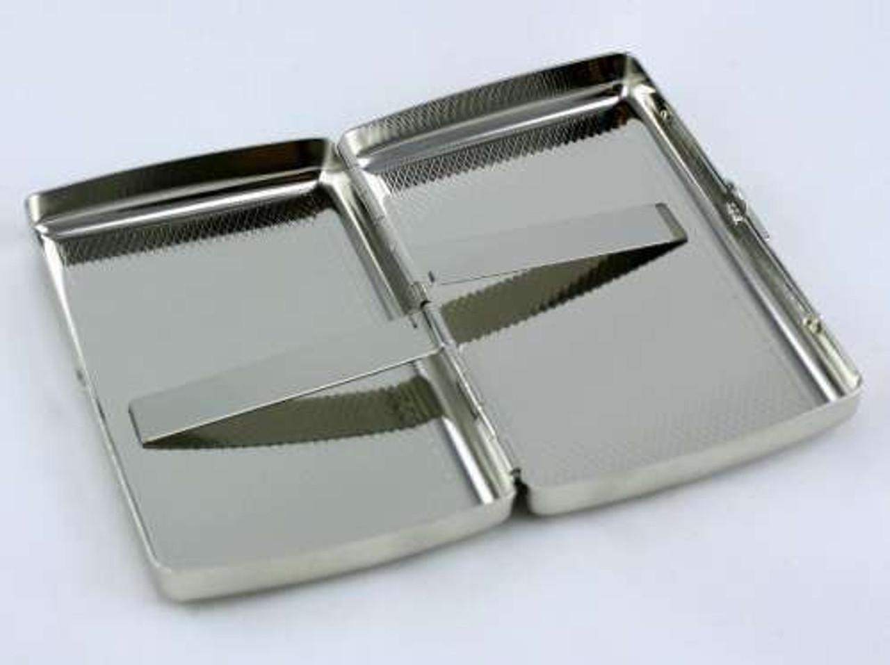 Silver Mesh Cigarette Case