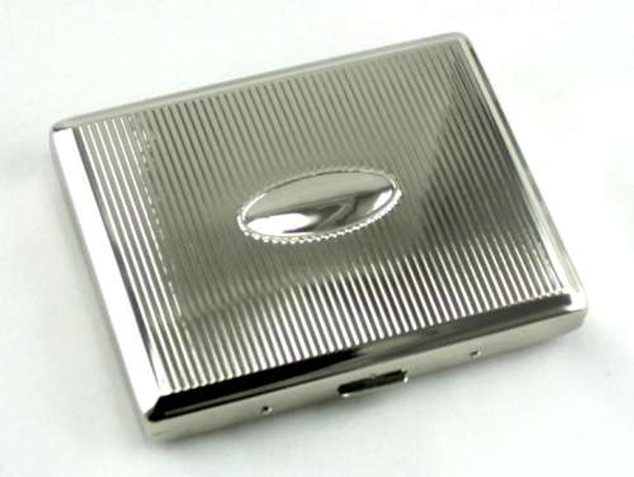 Lucienne Silver Infinity Cigarette Case
