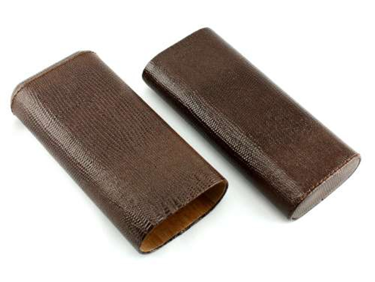 Brown Lawrence Cigar Case