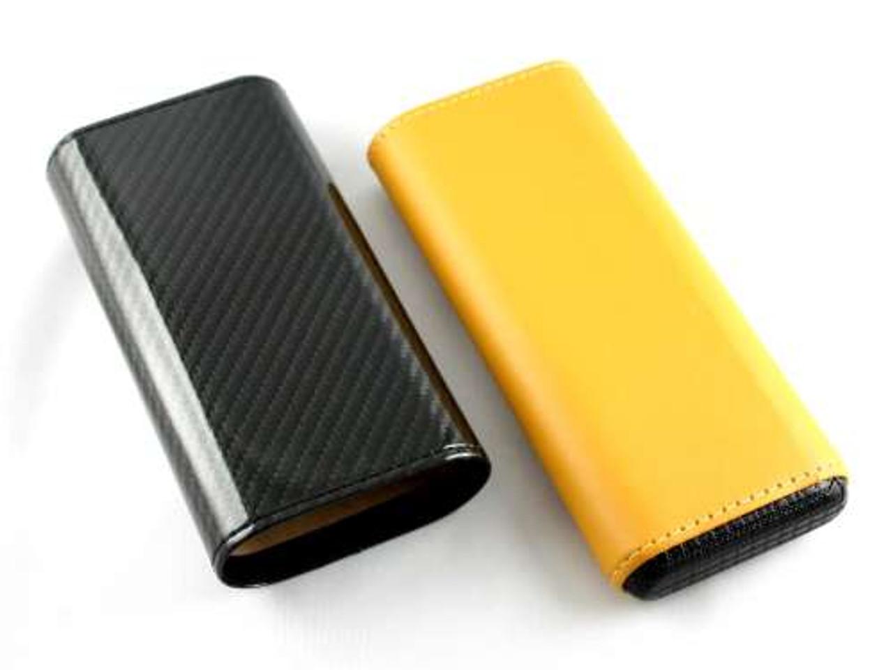 Deluxe Carbon Fiber Cigar Case