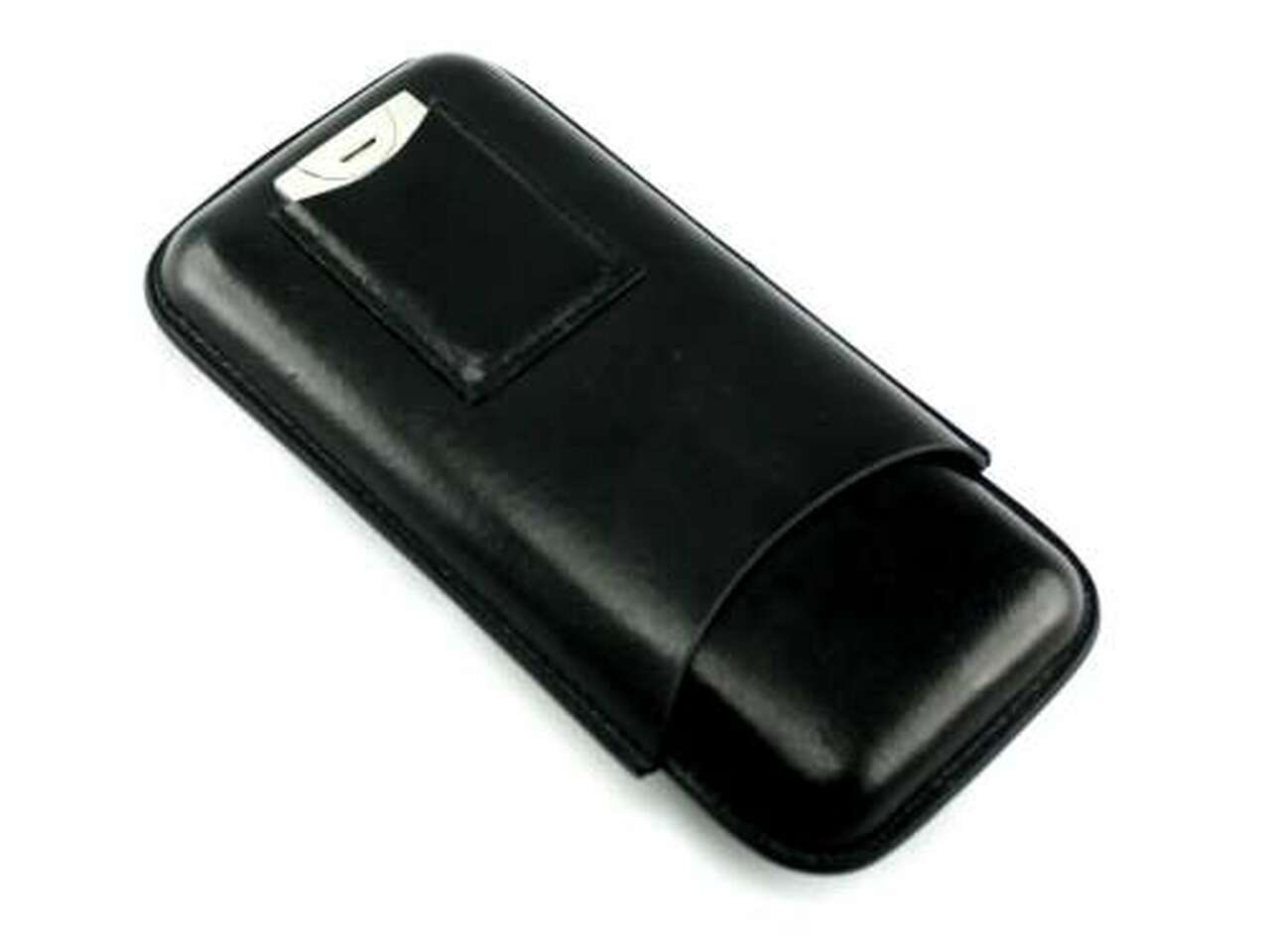 Black Dalton Cigar Case with Cutter