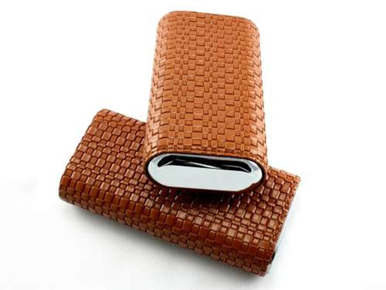 Brown Waverly Cigar Case