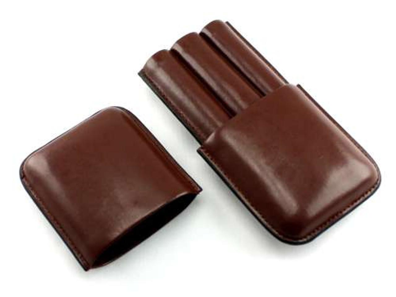Brown Beaumont Cigar Case