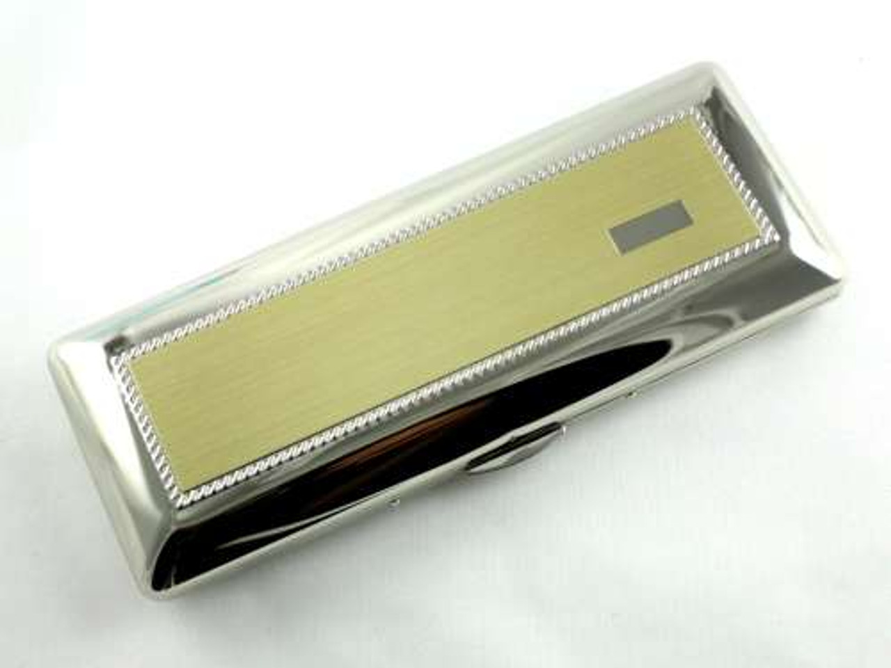 Lucienne Silver Rockwell Cigar Case
