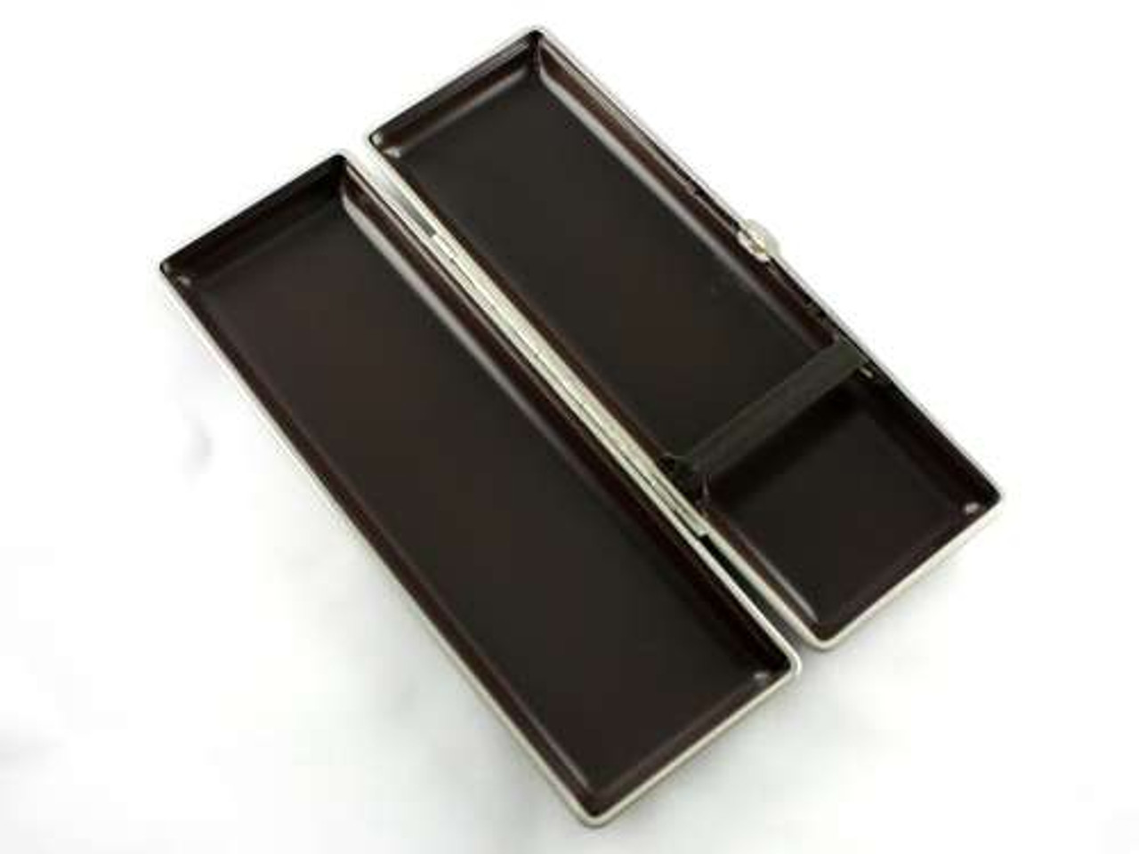 Lucienne Classic Black Leather Cigar Case