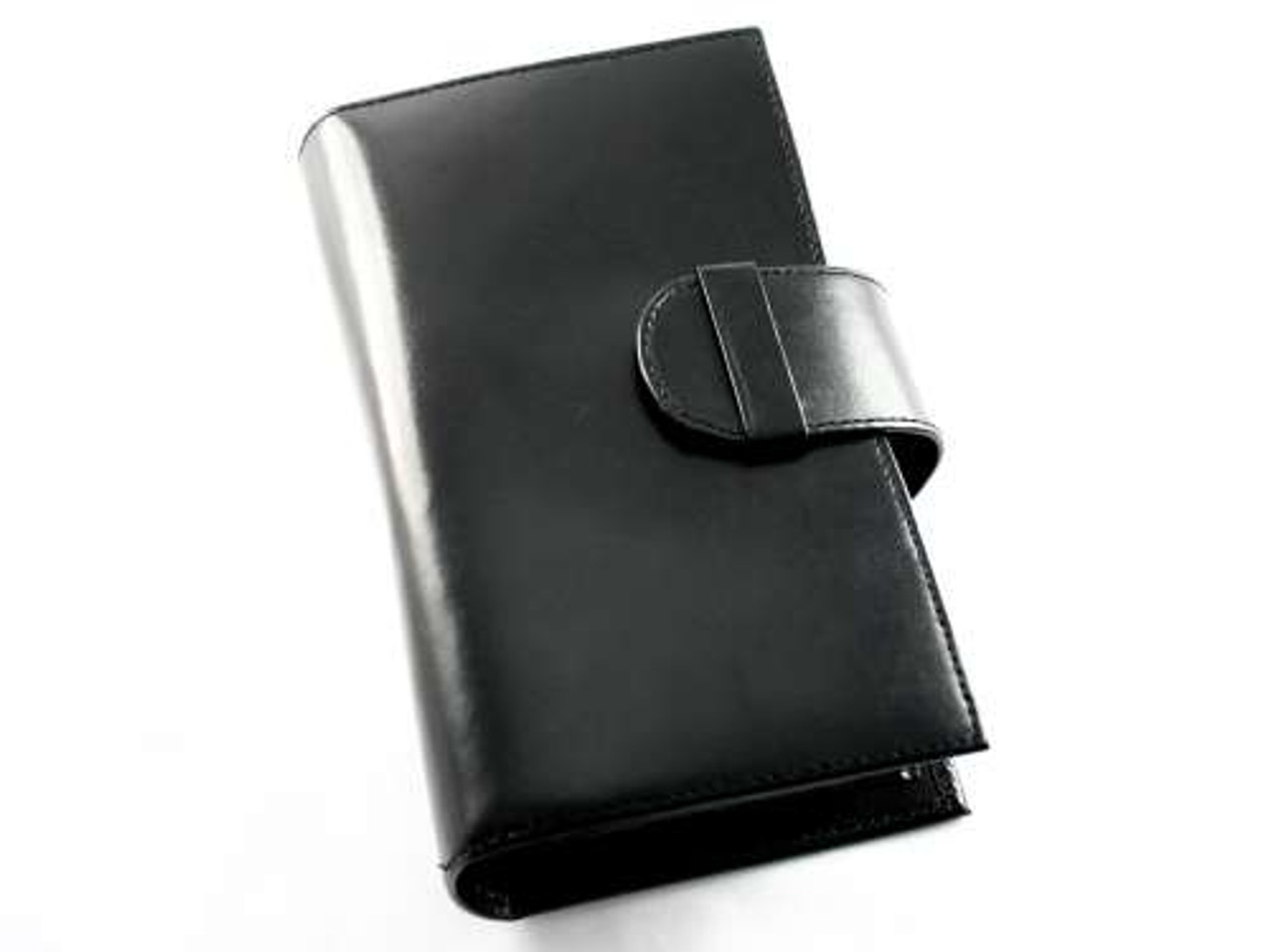Black Cigar Case Gift Set with Cutter and Flask