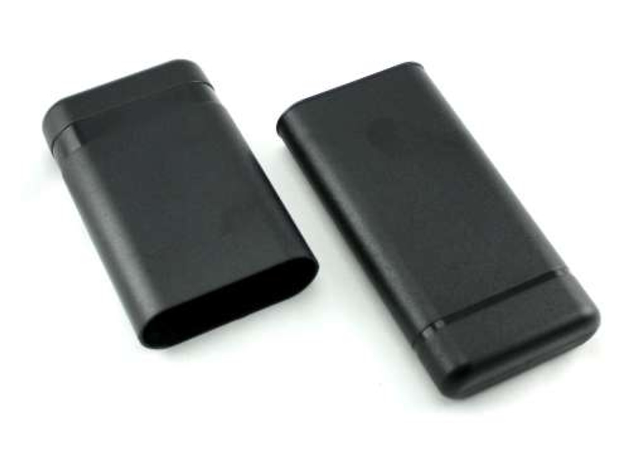 Black Extra Wide Adjustable Cigar Tube