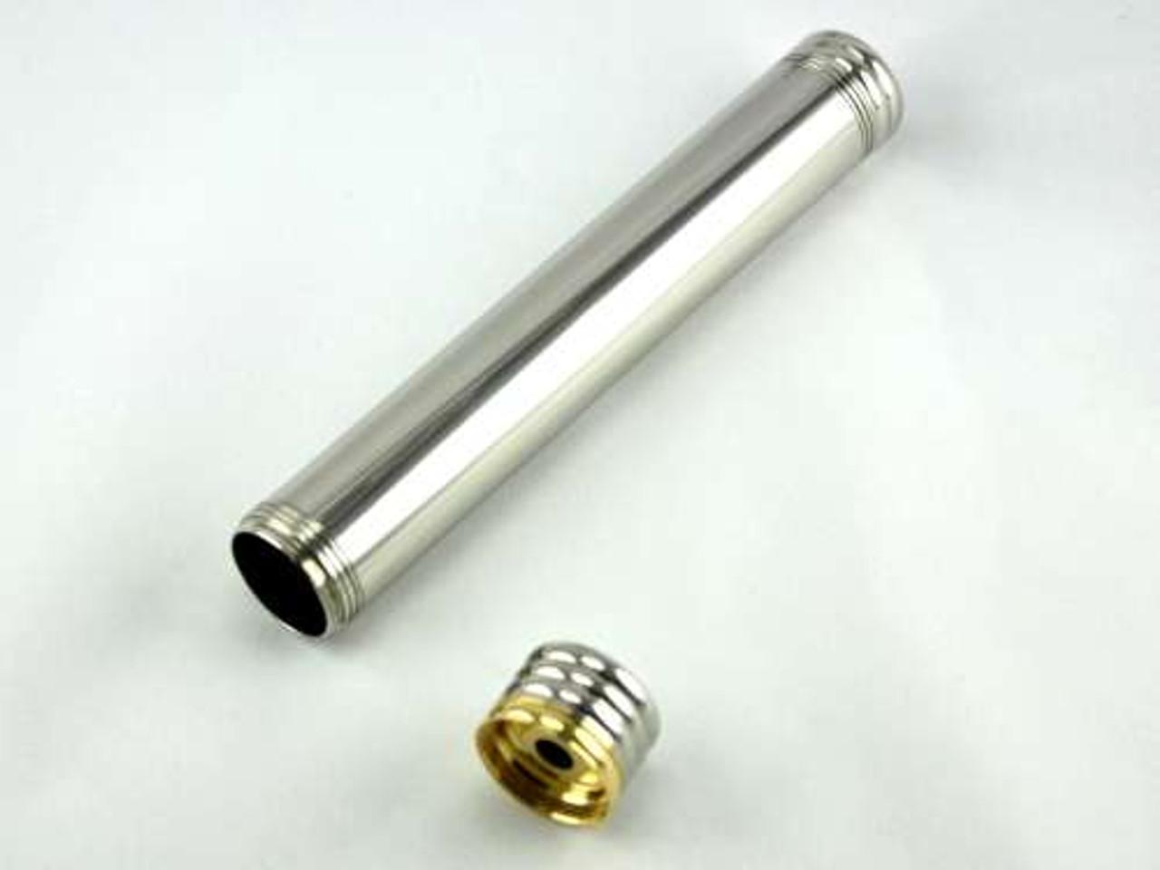 Silver Rain Cigar Tube with Punch