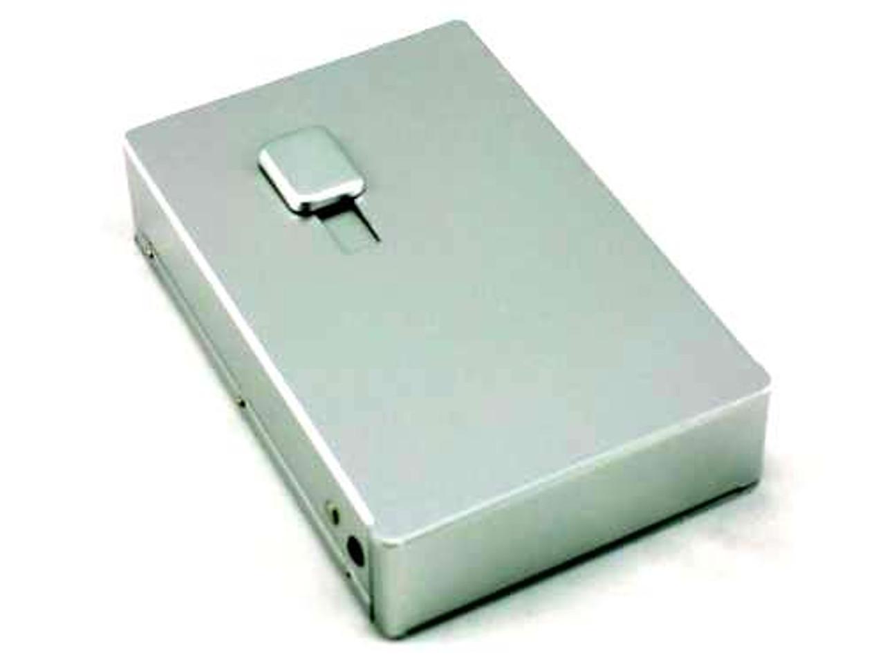 Silver Picture Frame Auto Dispensing Cigarette Case