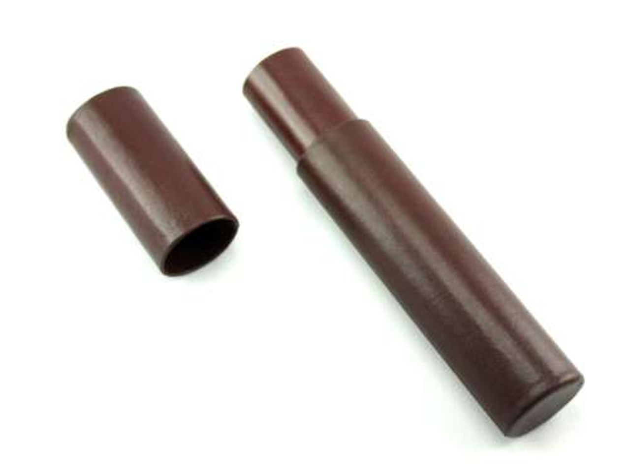 Brown Leather Cigar Tube