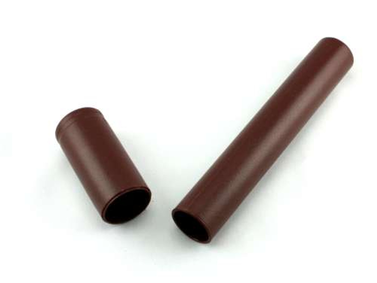 Brown Adjustable Plastic Cigar Tube