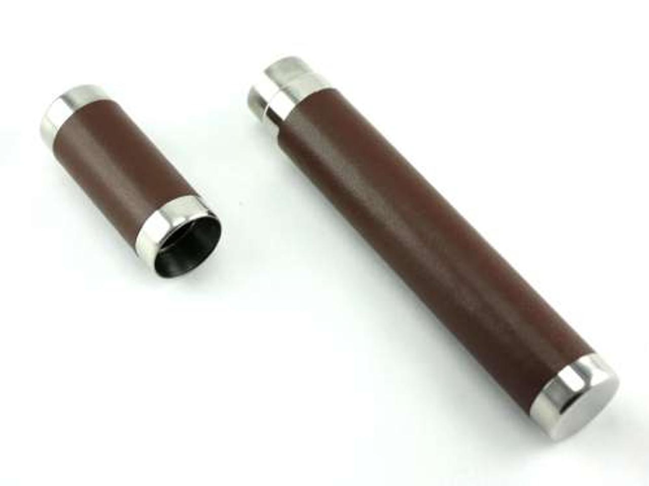 Dark Brown Commander Cigar Tube