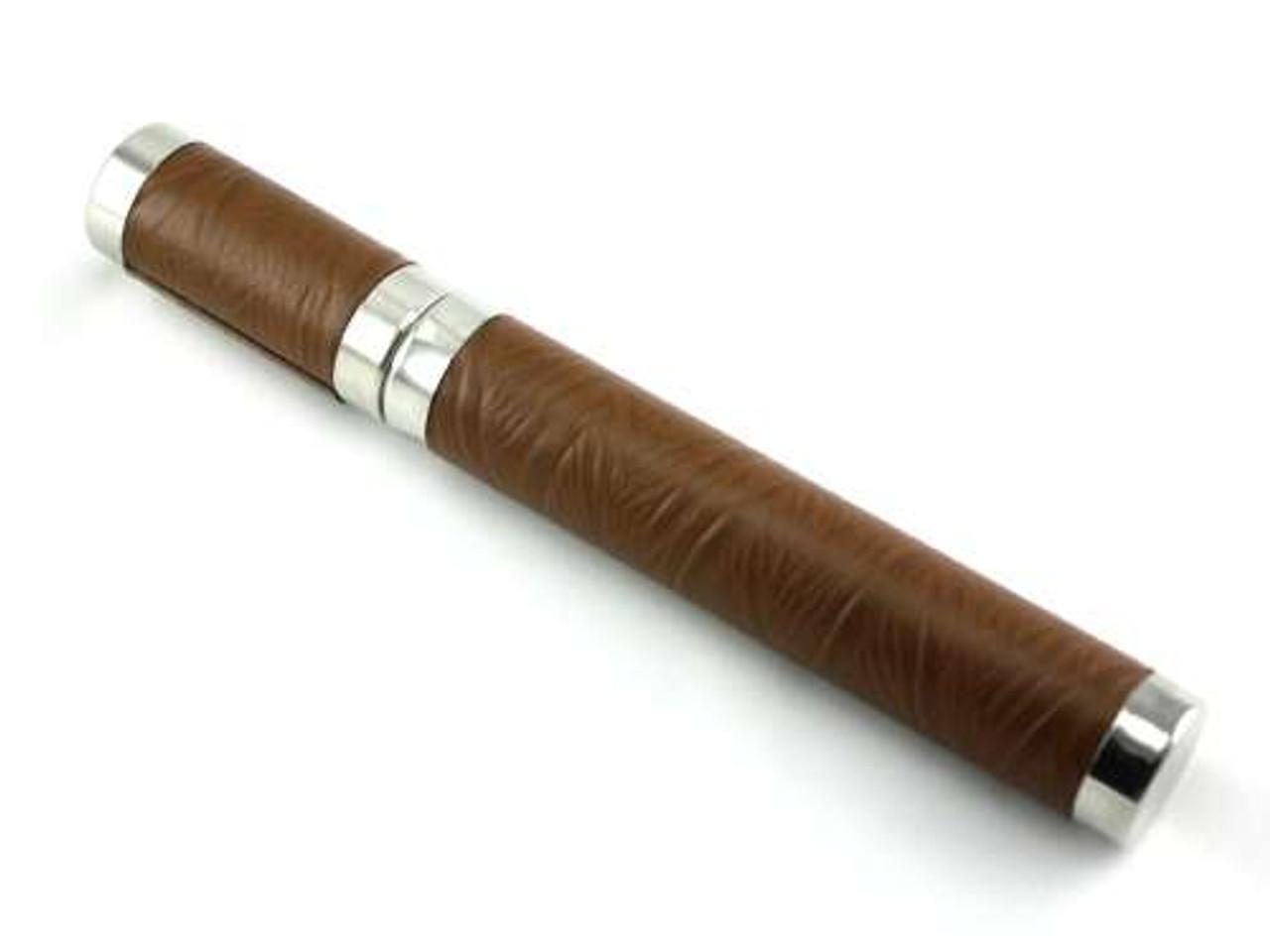 Brown Executive Cigar Tube
