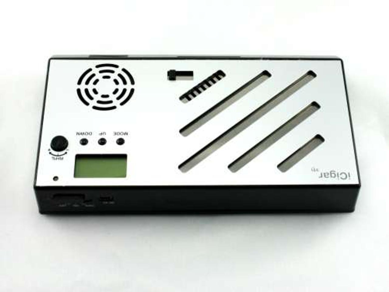 Le Veil Silver iCigar Hybrid Electronic Cigar Humidifier