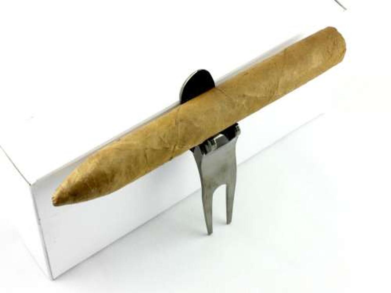 Div-Pro 6 in 1 Cigar Holder Divot Tool