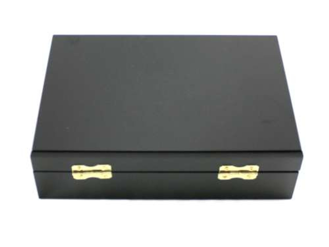 Black Davenport Cigar Humidor Gift Set