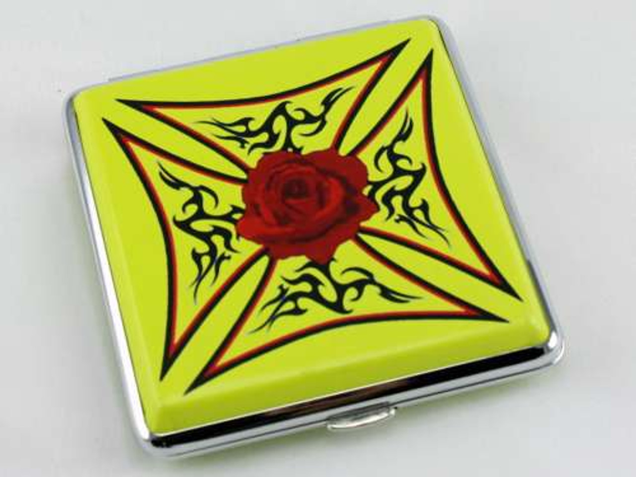 Tribal Rose Cigarette Case