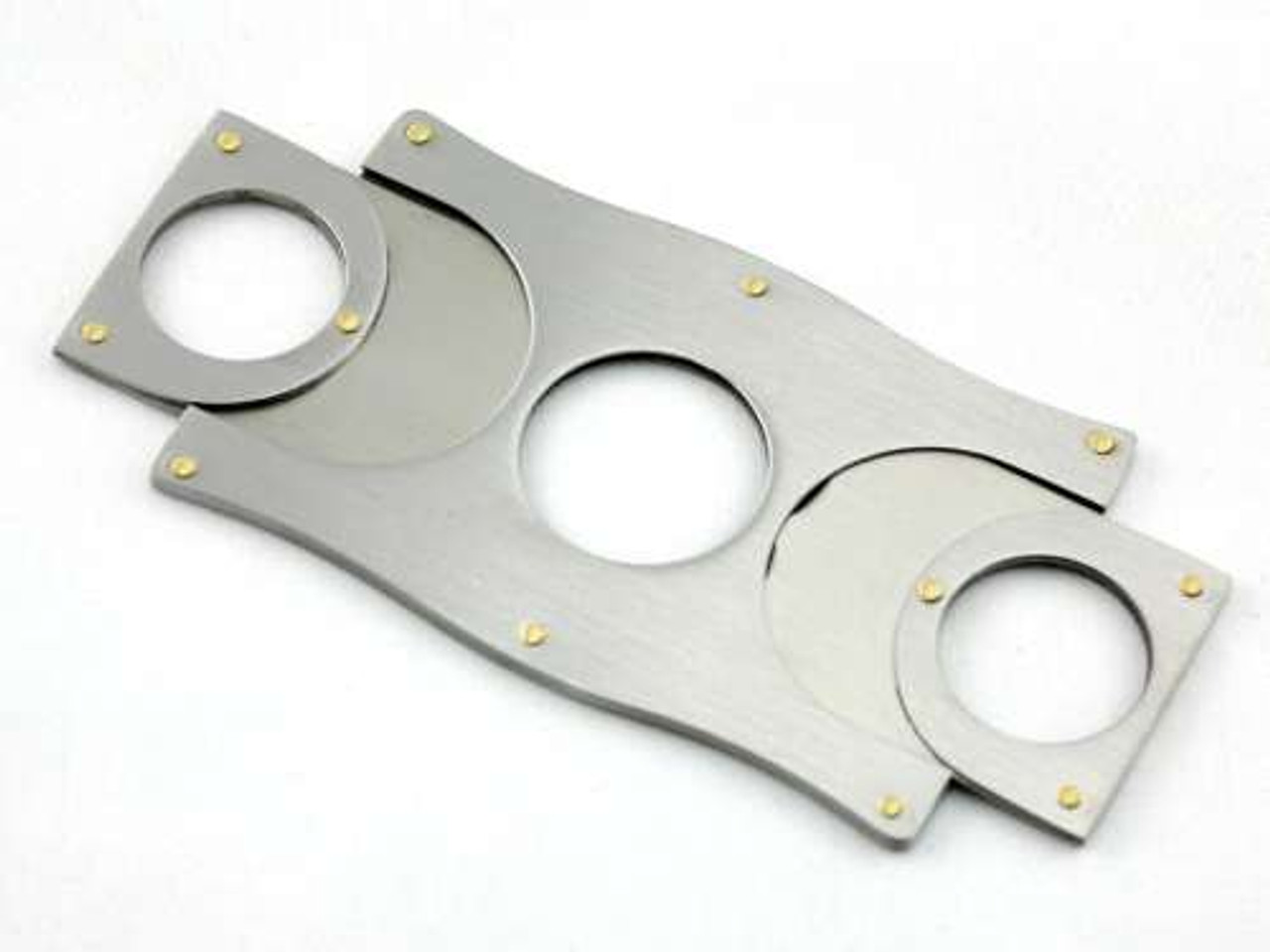 Silver Addison Cigar Cutter