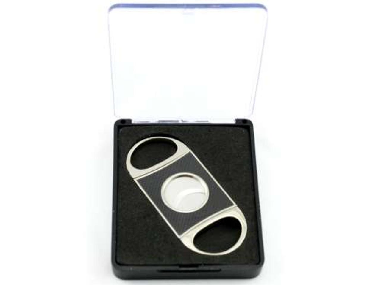 Silver Dante Carbon Fiber Cigar Cutter