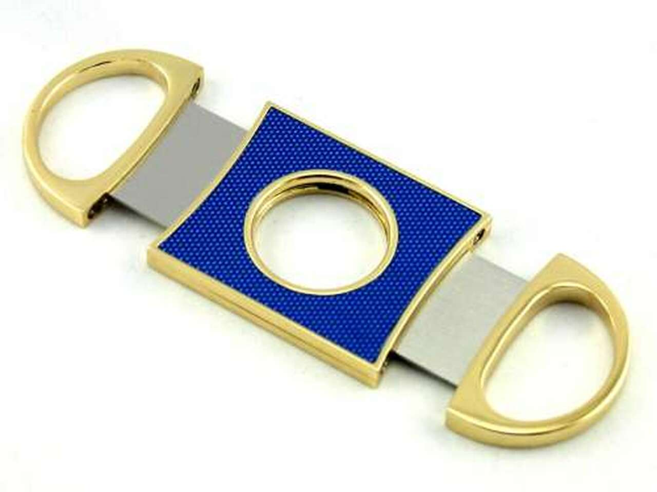 Blue Parker Cigar Cutter