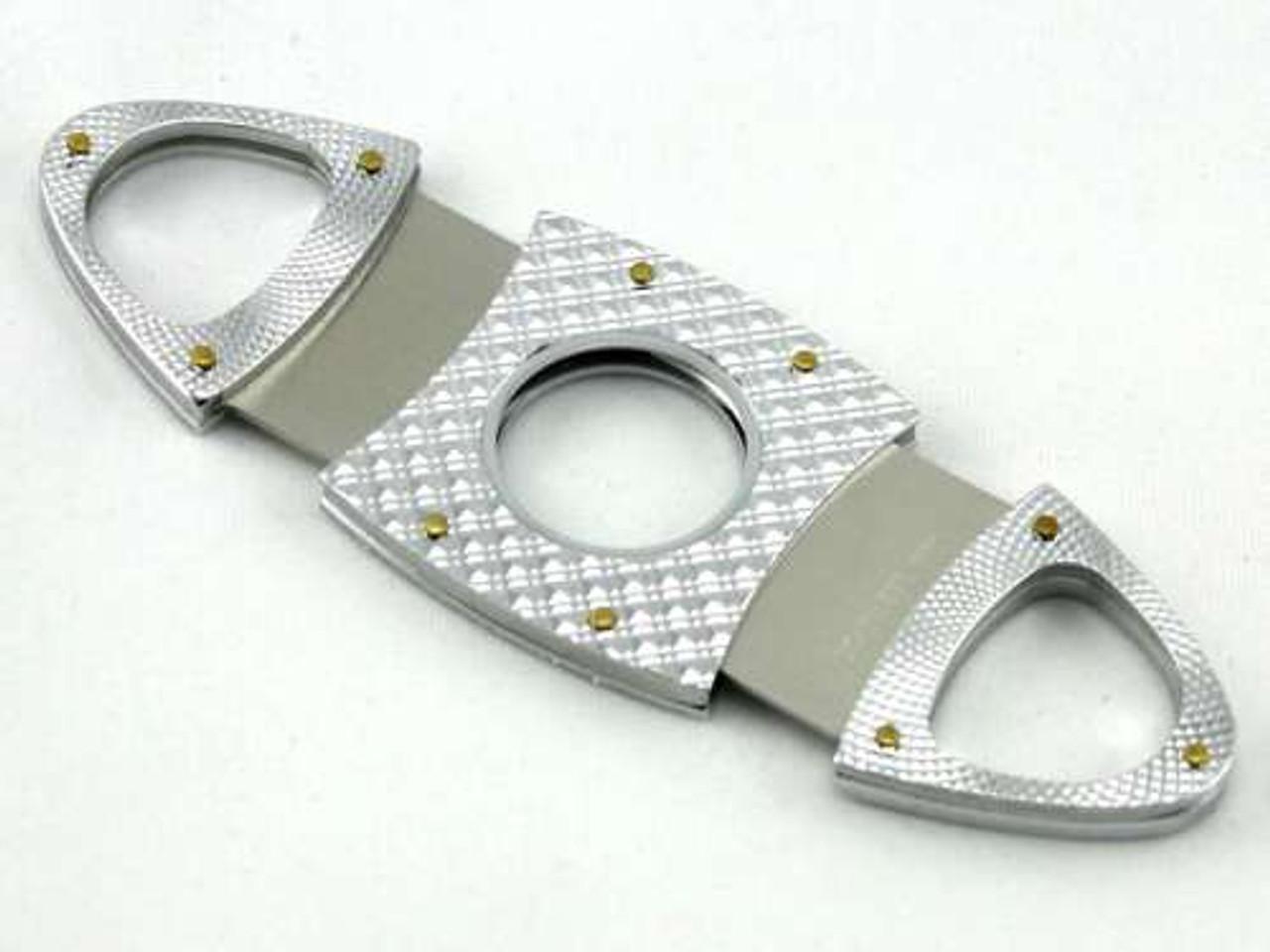 Silver Diamond Marco Cigar Cutter