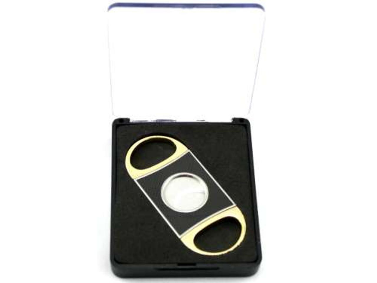 Gold Dante Carbon Fiber Cigar Cutter