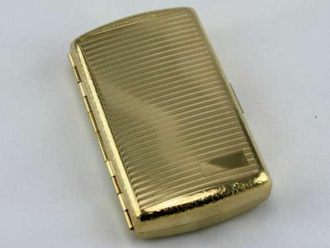 Lucienne Classic Gold Cigarette Case