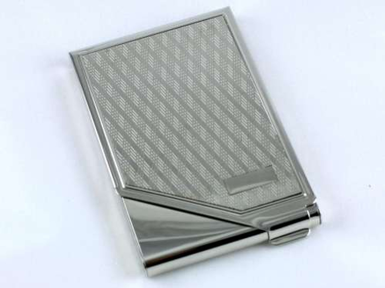 Lucienne Silver Diamond Cigarette Case