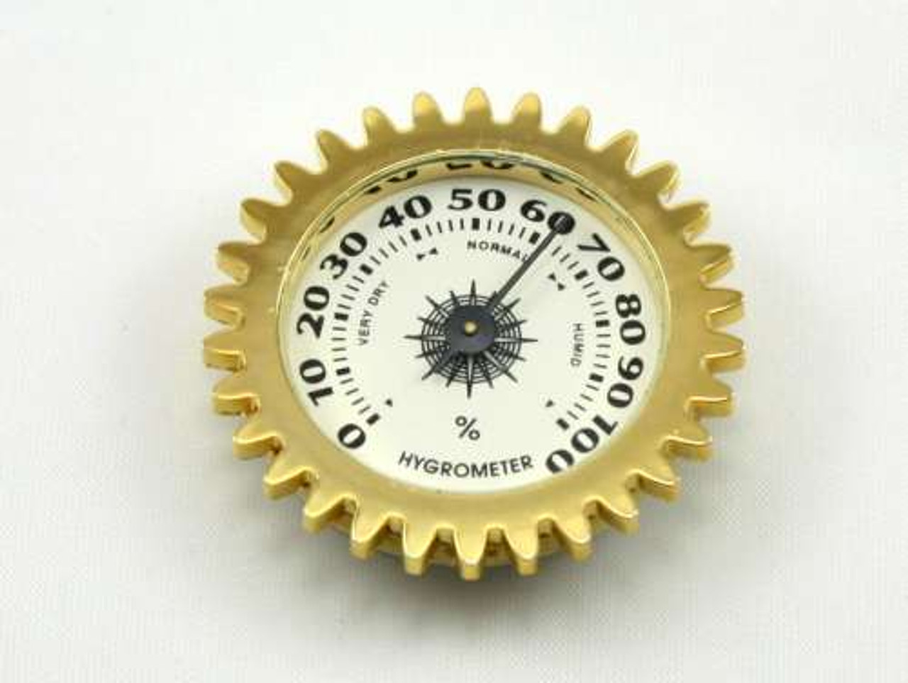 Golden Gear Analog Cigar Hygrometer