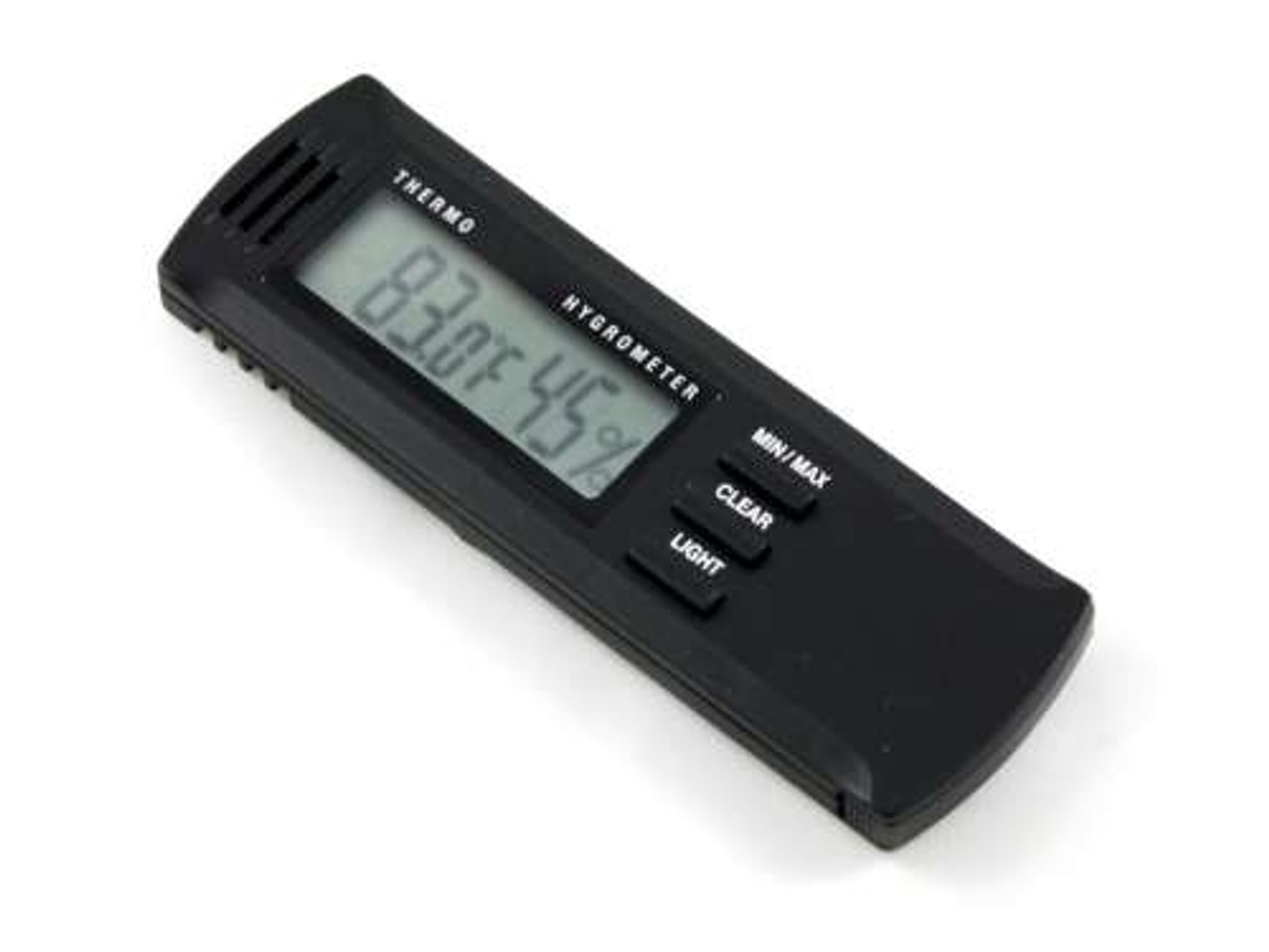 Lennox Digital Cigar Hygrometer with Thermometer