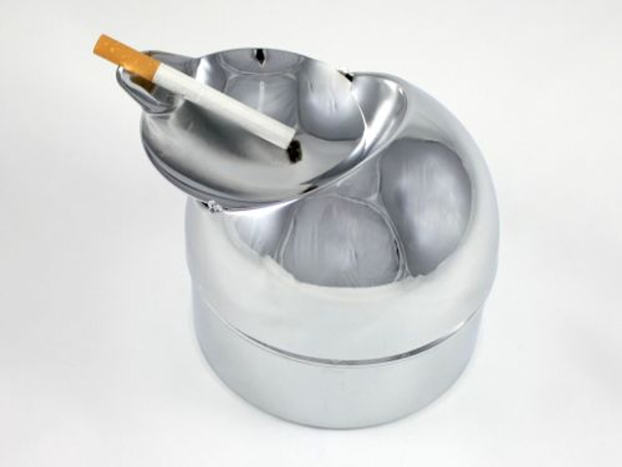 Silver Ashton Cigarette Ashtray