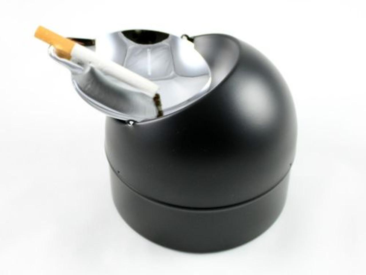 Black Ashton Cigarette Ashtray
