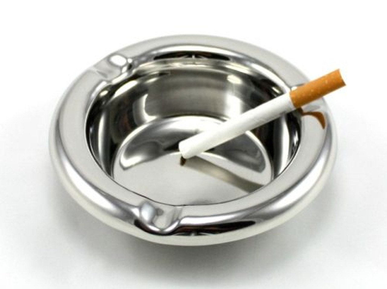 Large Stainless Steel Cigarette Ashtray