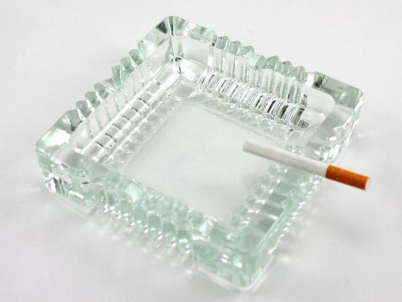 Tuscany Glass Cigarette Ashtray