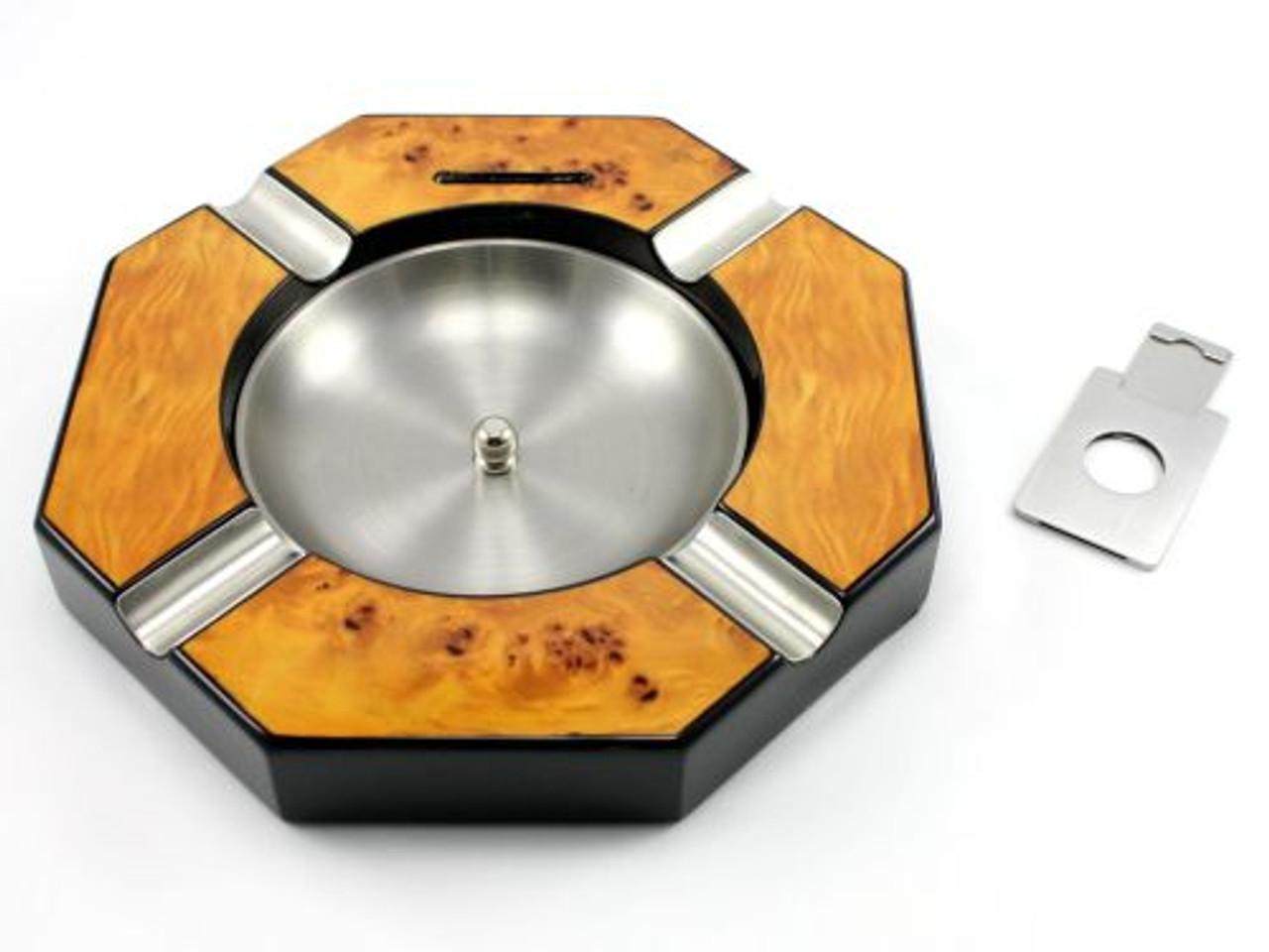 Kenyon Cigar Ashtray with Cutter