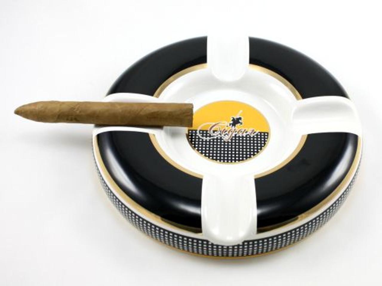 Large Round Columbo Cigar Ashtray
