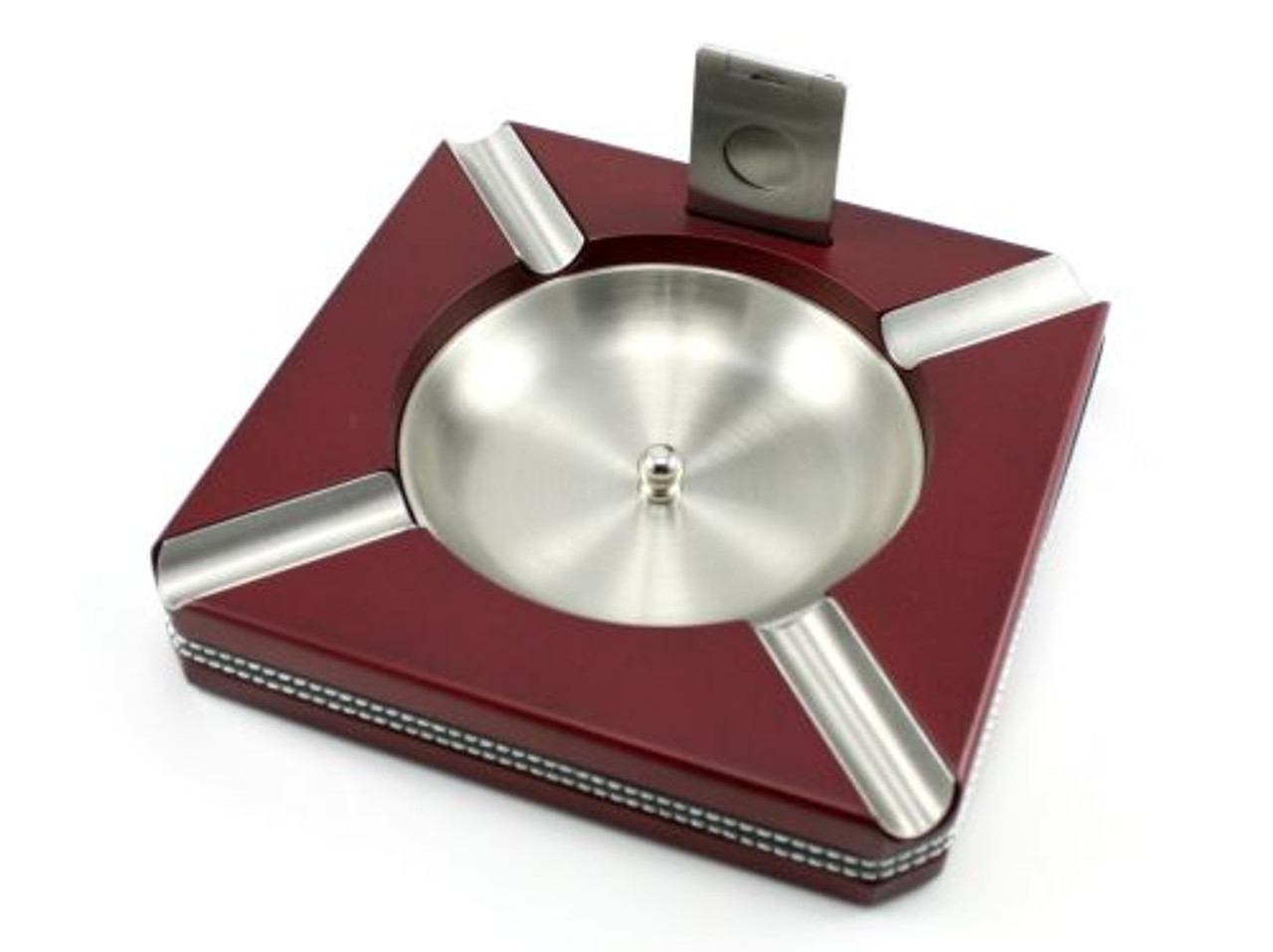 Cherry Cameron Cigar Ashtray with Cutter