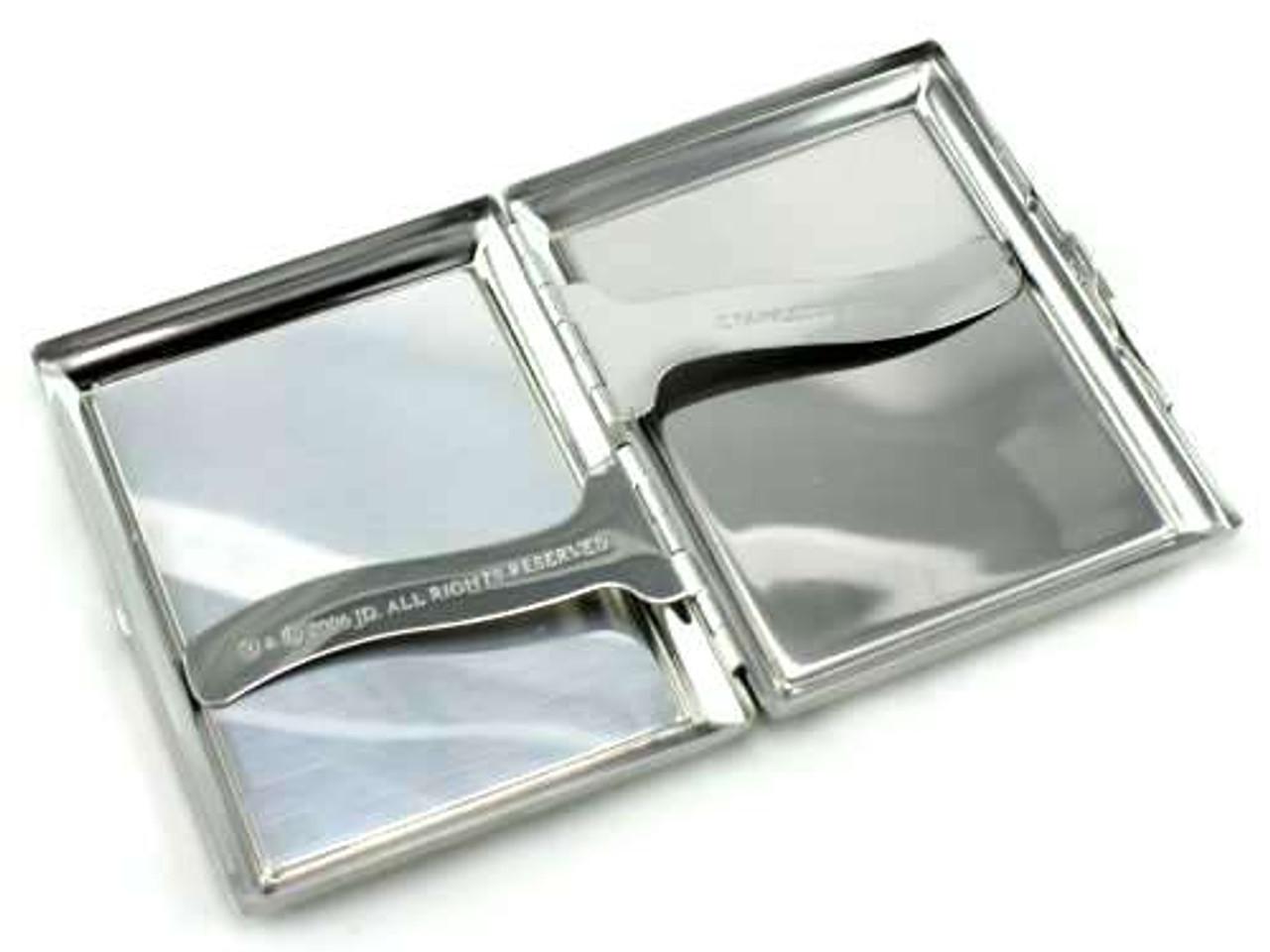 Jack Daniels Silver Cigarette Case