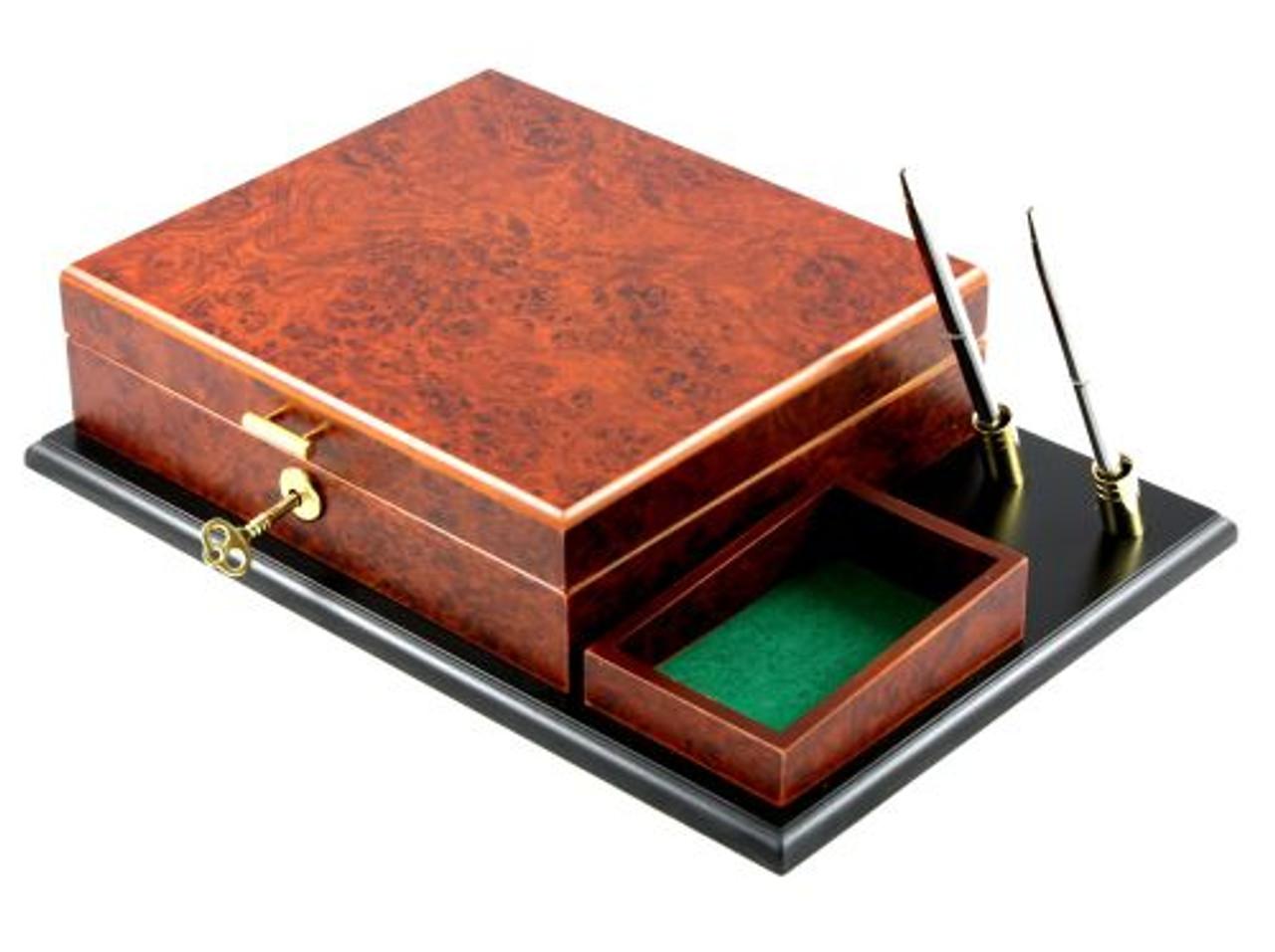 Executive Cigar Humidor Gift Set