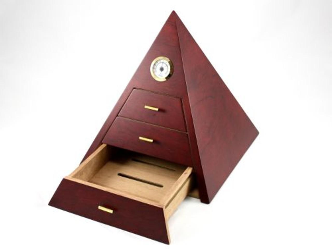 Pyramid Cigar Humidor