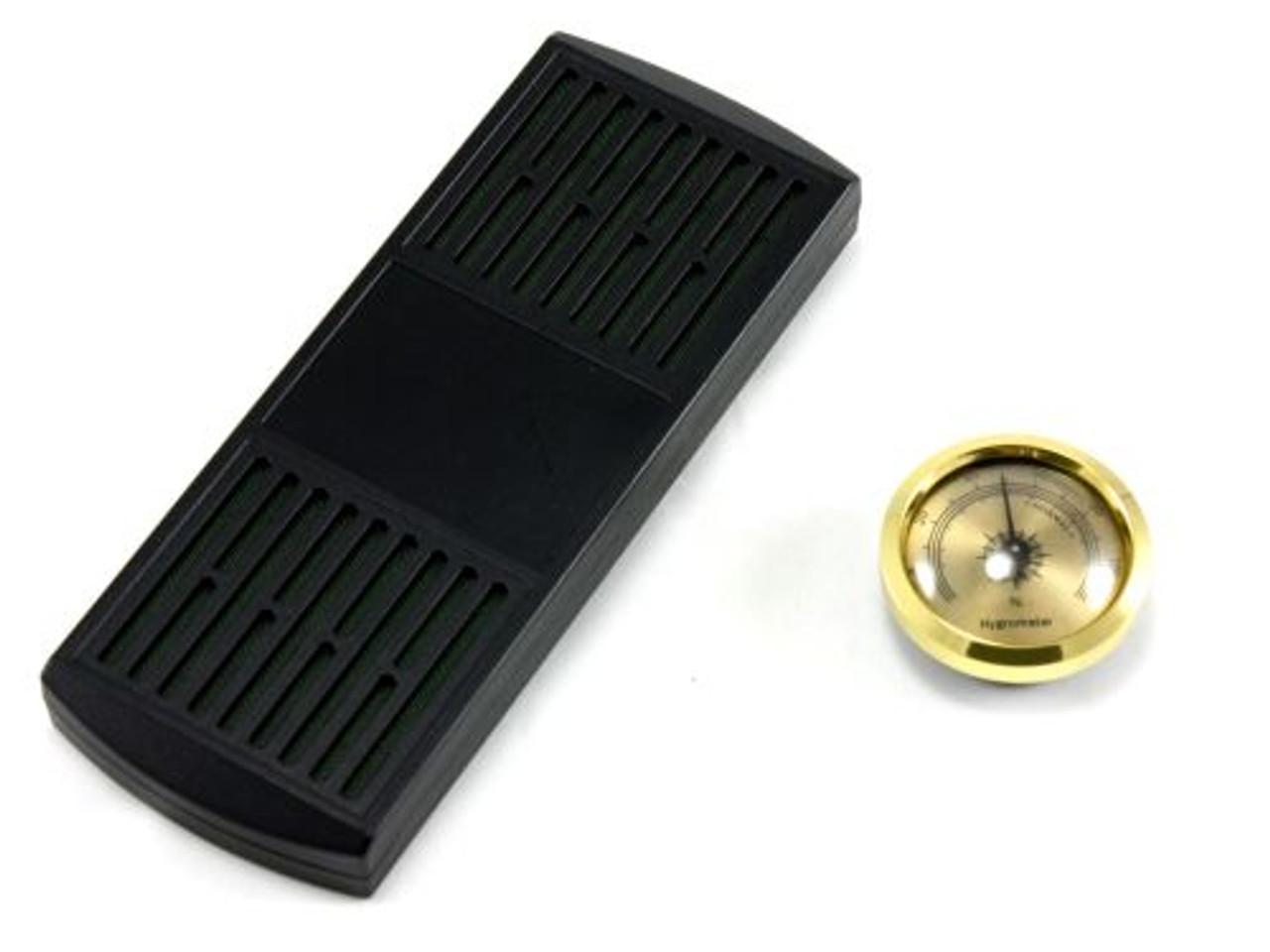 Florentino Black Cigar Humidor