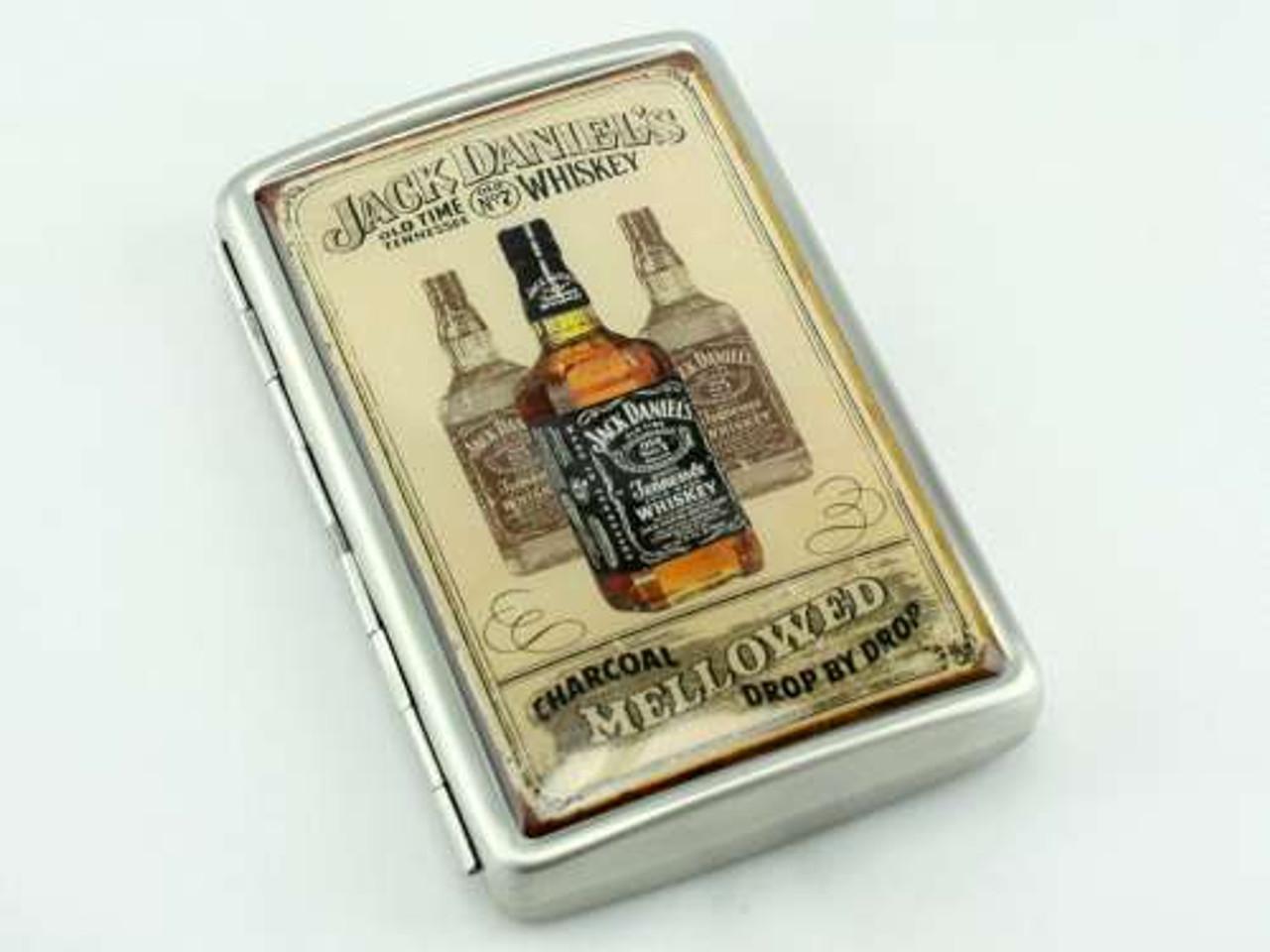 Jack Daniels Retro Cigarette Case
