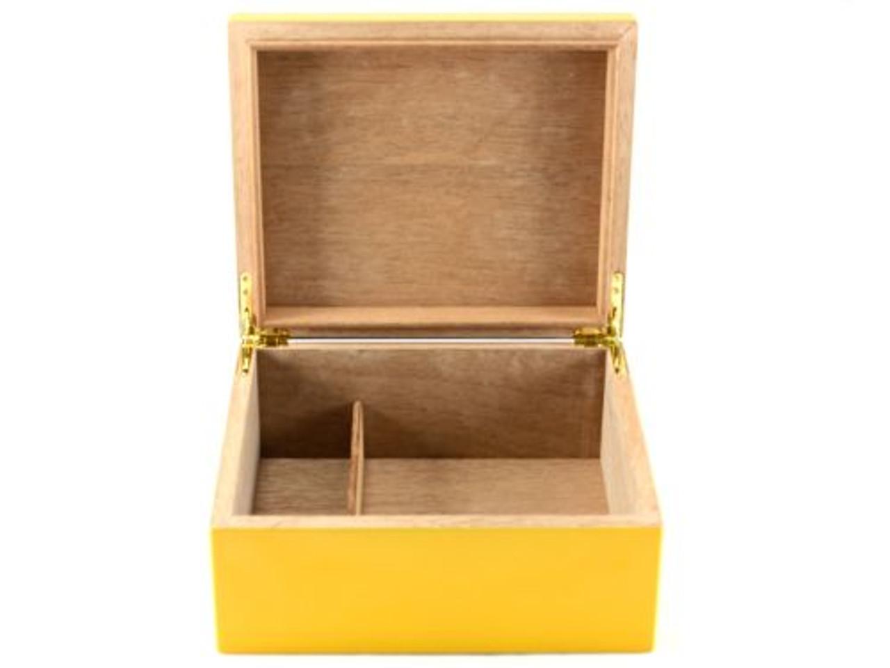 Columbo Medium Yellow Cigar Humidor